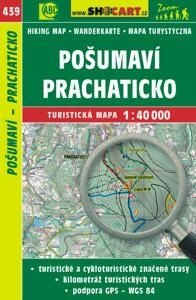 439 Posumi Prachaticko 1:40.000 | wandelkaart 9788072247172  SHOCart Wandelkaarten Tsjechië  Wandelkaarten Tsjechië