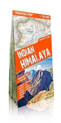 Indian Himalaya Trekking map 1:350.000 9788361155126  TerraQuest   Landkaarten en wegenkaarten Indiase Himalaya
