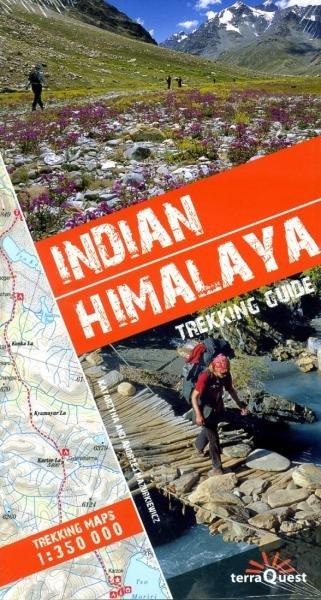 Indian Himalaya (trekking guide) 9788361155195 Katarzyna i Andrzej Mazurkiewiczowie TerraQuest   Reisgidsen Indiase Himalaya