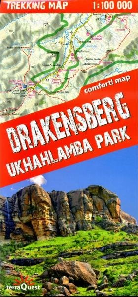 Drakensberg Ukhahlamba Park 1:100.000 9788361155331  TerraQuest   Wandelkaarten Zuid-Afrika