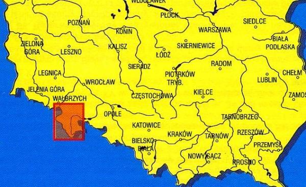 Okolice Klodzka 1:100.000 9788370003616  Ppwk Mapy turystyczna  Landkaarten en wegenkaarten Polen