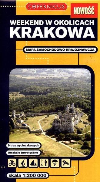 Okolice Krakowa 1:200.000 9788373295711  Ppwk Mapy turystyczna  Landkaarten en wegenkaarten Polen