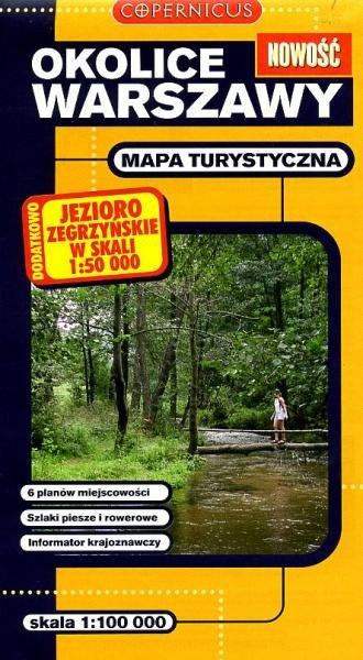 Okolice Warszawy 1:100.000 9788373296107  Ppwk Mapy turystyczna  Landkaarten en wegenkaarten Polen