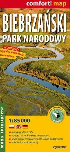 Biebrzanski Park Narodowy | wandelkaart 1:85.000 9788375461978  ExpressMap Mapy turystyczna  Wandelkaarten Polen