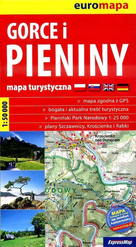 Gorce & Pieniny | wandelkaart 1:50.000 9788375463743  ExpressMap   Wandelkaarten Polen