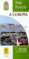 Prov.: A Coruña 1:200.000 9788441609662  CNIG Provinciekaarten Spanje  Landkaarten en wegenkaarten Noordwest-Spanje, Compostela, Picos de Europa