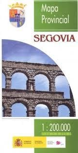 Prov.: Segovia 1:200.000 9788441615601  CNIG Provinciekaarten Spanje  Landkaarten en wegenkaarten Castilië