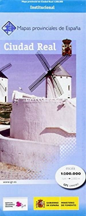Prov.: Ciudad Real 1:200.000 9788441624146  CNIG Provinciekaarten Spanje  Landkaarten en wegenkaarten Castilië