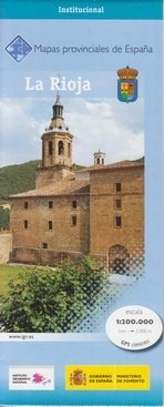 Prov.: La Rioja 1:200.000 9788441625051  CNIG Provinciekaarten Spanje  Landkaarten en wegenkaarten, Wijnreisgidsen Noordwest-Spanje, Compostela, Picos de Europa