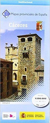 Prov.: Cáceres 1:200.000 9788441639225  CNIG Provinciekaarten Spanje  Landkaarten en wegenkaarten Extremadura