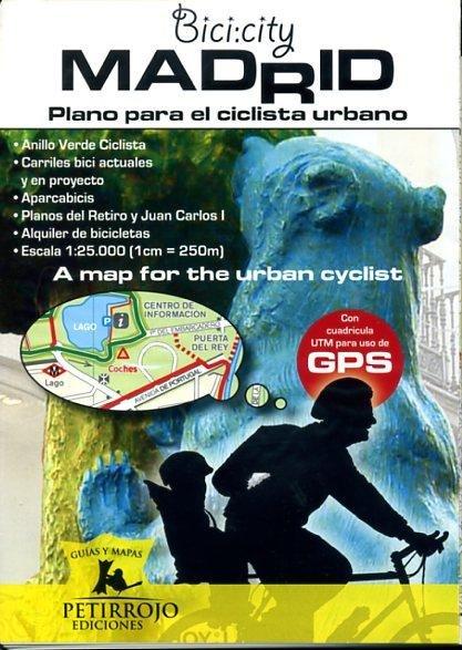Bici:city-Madrid - plano para el ciclista urbano 9788461375684  Bernard Datcharry   Fietskaarten Madrid