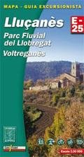 Lluçanes, Parc Fluvial Llobegrat 1:30.000 9788480904599  Editorial Alpina Wandelkaarten Spanje  Wandelkaarten Catalonië, Barcelona