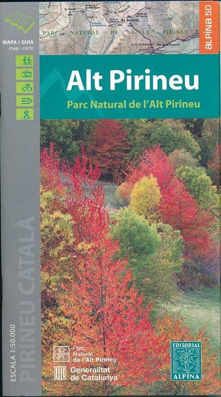 Alt Pirineu, Parc Natural 1:50.000 9788480905701  Editorial Alpina Wandelkaarten Spaanse Pyreneeë  Wandelkaarten Spaanse Pyreneeën