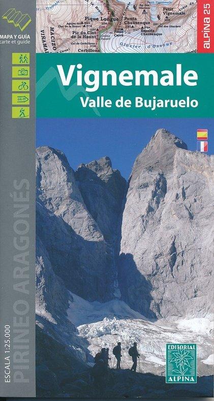 Vignemale, Bujaruelo 1:25.000 9788480905725  Editorial Alpina Wandelkaarten Spaanse Pyreneeë  Wandelkaarten Spaanse Pyreneeën