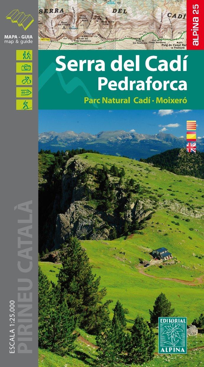 Serra del Cadí, Pedraforca 1:25.000 9788480906494  Editorial Alpina Wandelkaarten Spaanse Pyreneeë  Wandelkaarten Spaanse Pyreneeën