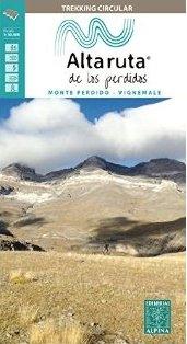 Alta Ruta de los Perdidos - Monte Perdido-Vignemale 1:25.000 9788480906548  Editorial Alpina Wandelkaarten Spaanse Pyreneeë  Wandelkaarten Spaanse Pyreneeën