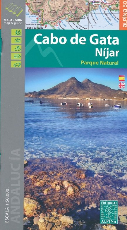 Cabo de Gata 1:50.000 9788480906593  Editorial Alpina Wandelkaarten Spanje  Wandelkaarten Andalusië
