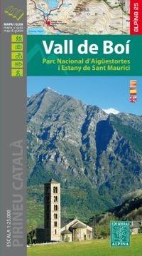Vall de Boi 1:25.000 (Aigüestortes) 9788480907040  Editorial Alpina Wandelkaarten Spaanse Pyreneeë  Wandelkaarten Spaanse Pyreneeën
