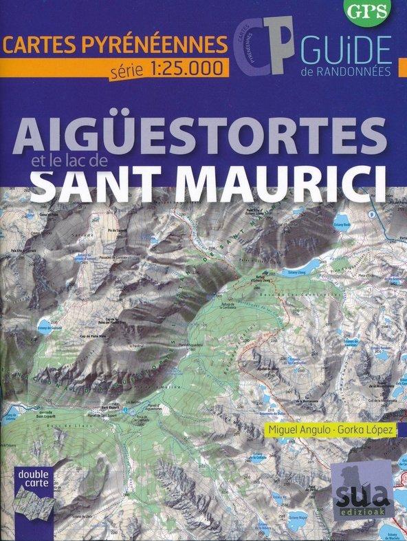 Aiguestortes i estany de Sant Maurici | wandelkaart 1:25.000 9788482166018  Sua edizio Wandelkaarten Spaanse Pyreneeë  Wandelkaarten Spaanse Pyreneeën