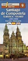 Santiago de Compostela  1:9.000 9788496295124  Geo Estel   Santiago de Compostela, Stadsplattegronden Noordwest-Spanje, Compostela, Picos de Europa