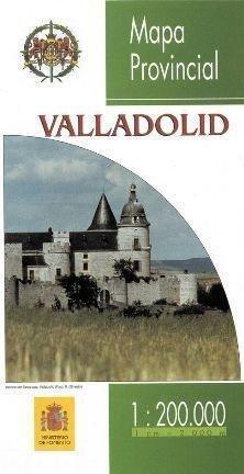 Prov.: Valladolid 1:200.000 9788498108880  CNIG Provinciekaarten Spanje  Landkaarten en wegenkaarten Castilië