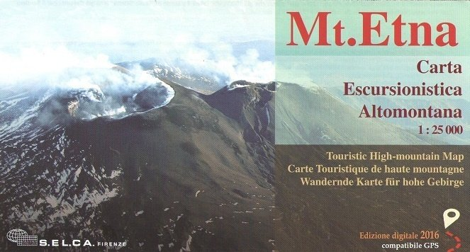 Mt. Etna 1:25.000 9788833032184  Edizione S.E.L.C.A   Wandelkaarten Sicilië