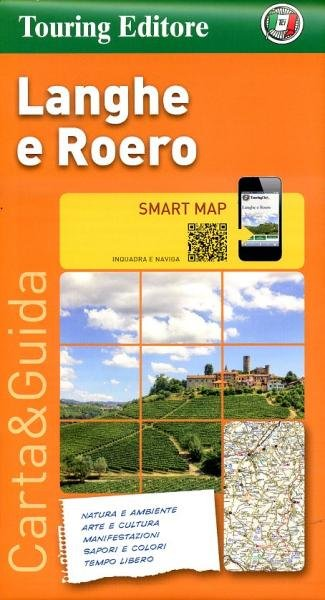 Langhe e Roero 1:175.000 9788836562459  TCI   Landkaarten en wegenkaarten, Wijnreisgidsen Turijn, Piemonte