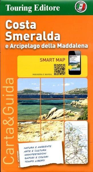 Costa Smeralda 1:175.000 9788836562466  TCI   Wandelkaarten Sardinië