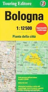 Bologna 1:12.500 9788836573417  TCI Touring Club of Italy   Stadsplattegronden Zuidtirol, Dolomieten, Friuli, Venetië, Emilia-Romagna