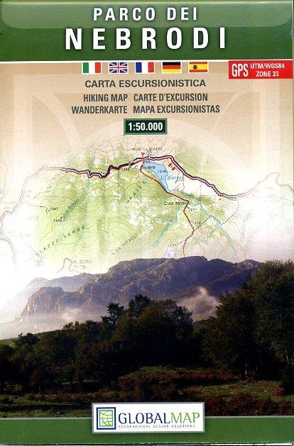 LAC09 Parco dei Nebrodi 1:50.000 9788879145053  Global Map   Wandelkaarten Sicilië