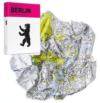 Crumpled City Map: Berlin 9788890426407  Palomar Crumpled City  Stadsplattegronden Berlijn, Brandenburg