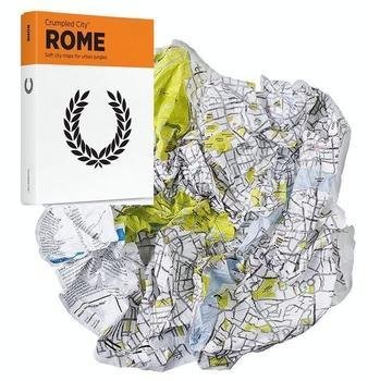 Crumpled City Map: Rome 9788890426483  Palomar Crumpled City  Stadsplattegronden Rome, Abruzzen