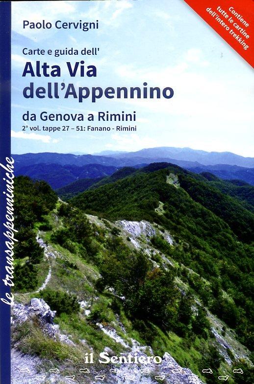Alta Via dell'Appennino da Genova a Rimini, Vol.2 9788890999529  Il Sentiero   Meerdaagse wandelroutes, Wandelgidsen Bologna, Emilia-Romagna