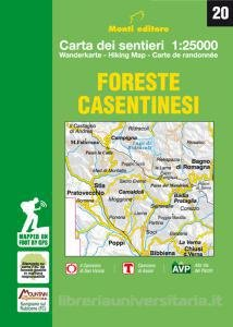 Foreste Casentinesi 1:25.000 9788894005271  Monti Editore   Wandelkaarten Zuidtirol, Dolomieten, Friuli, Venetië, Emilia-Romagna