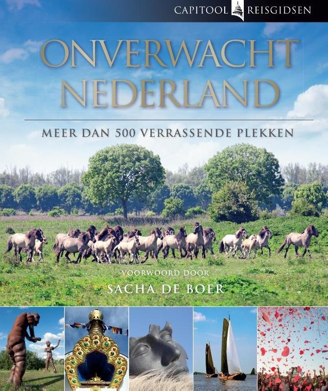 Capitool onverwacht Nederland 9789000325382 Bartho Hendriksen, Sacha de Boer (voorwoord) Unieboek Capitool  Reisgidsen Nederland
