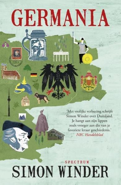Germania 9789000334933 Simon Winder Spectrum   Historische reisgidsen, Landeninformatie Duitsland