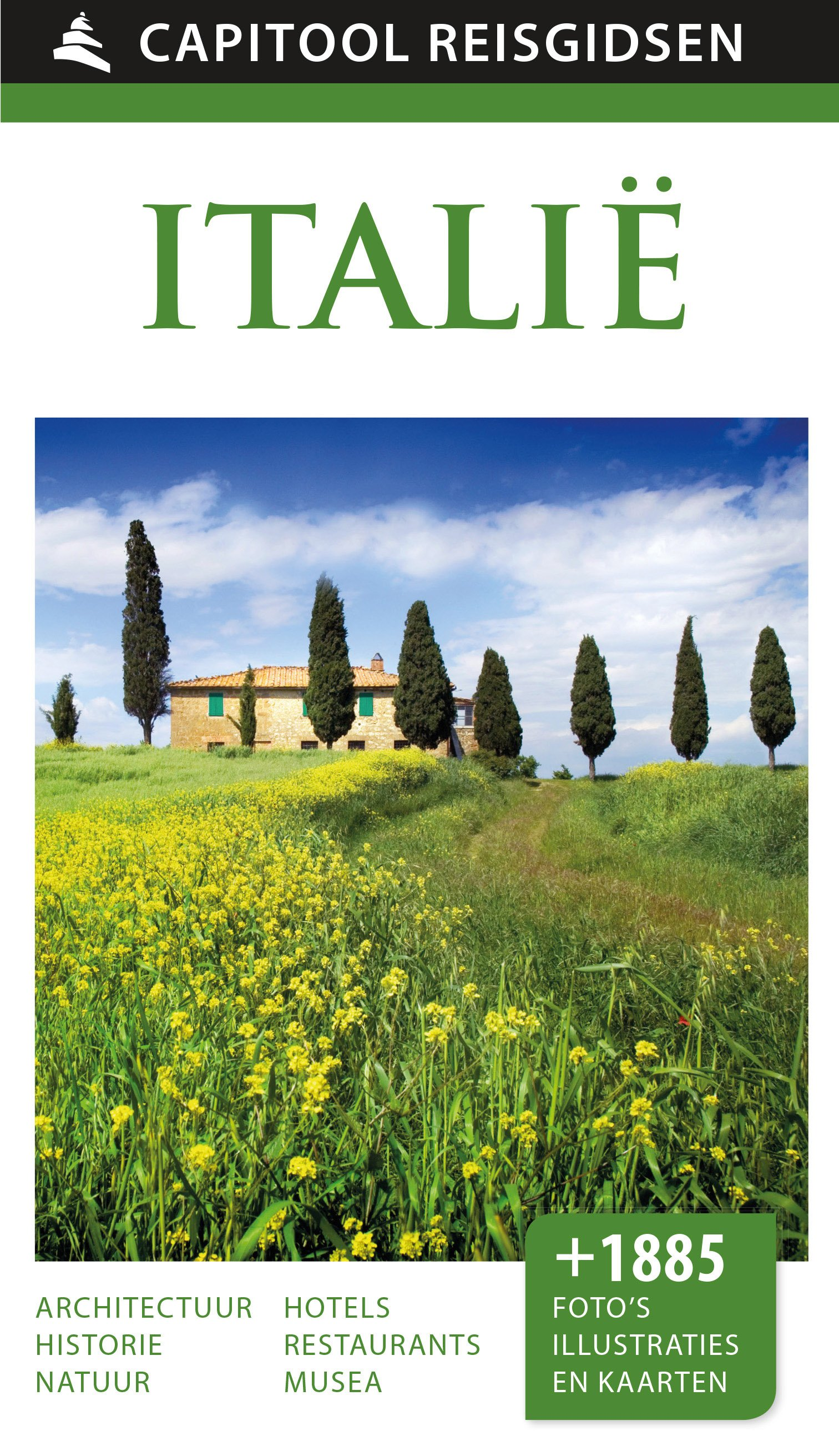 Capitool Italie 9789000341825  Unieboek Capitool Reisgidsen  Reisgidsen Italië