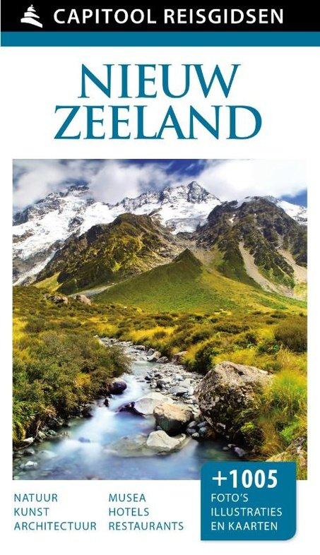 Capitool Nieuw-Zeeland 9789000342051  Unieboek Capitool Reisgidsen  Reisgidsen Nieuw Zeeland