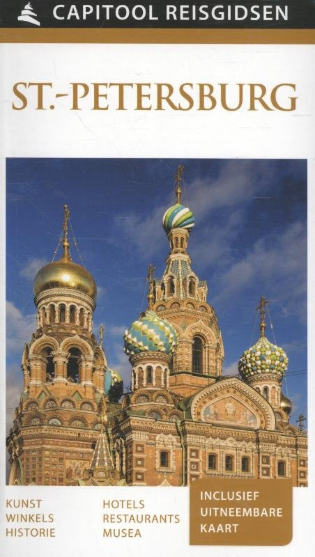 Capitool St.-Petersburg 9789000342235  Unieboek Capitool Reisgidsen  Reisgidsen Europees Rusland