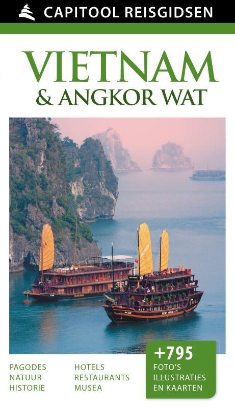 Capitool Vietnam 9789000342334  Unieboek Capitool Reisgidsen  Reisgidsen Vietnam