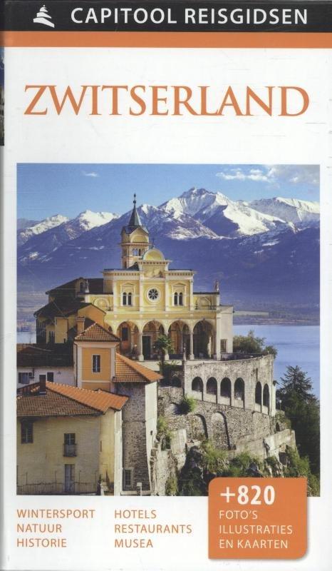 Capitool Zwitserland 9789000342396  Unieboek Capitool Reisgidsen  Reisgidsen Zwitserland
