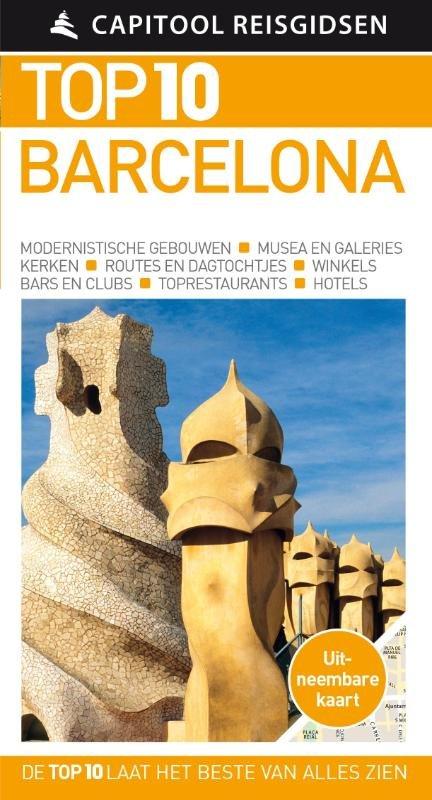 Capitool Top 10 Barcelona 9789000353019  Unieboek Capitool Top 10  Reisgidsen Barcelona
