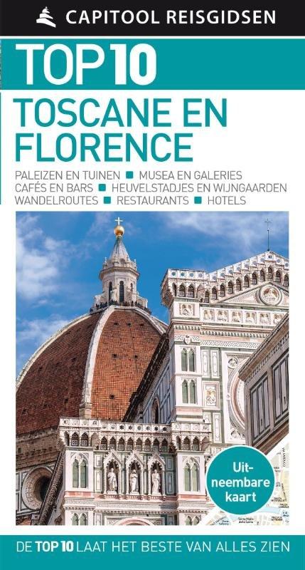 Capitool Top 10 Toscane & Florence 9789000356584  Unieboek Capitool Top 10  Reisgidsen Toscane, Florence