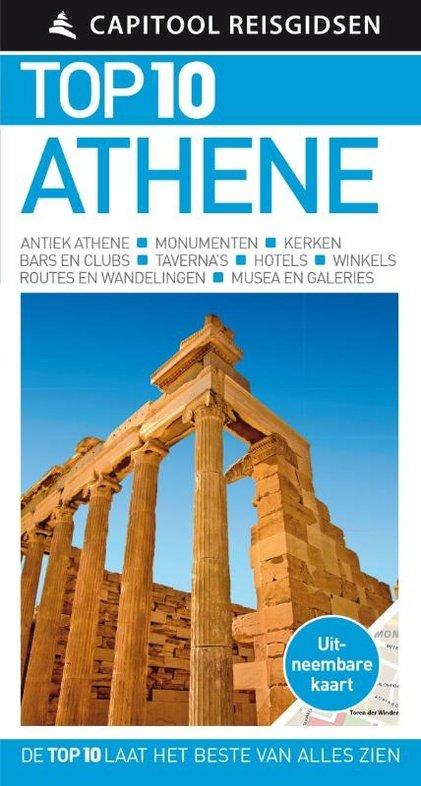 Capitool Top 10 Athene 9789000356621  Unieboek Capitool Top 10  Reisgidsen Midden en Noord-Griekenland, Athene