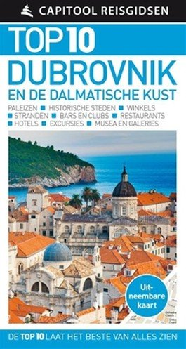 Capitool Top 10 Dubrovnik en Dalmatische kust 9789000356638  Unieboek Capitool Compact  Reisgidsen Kroatië