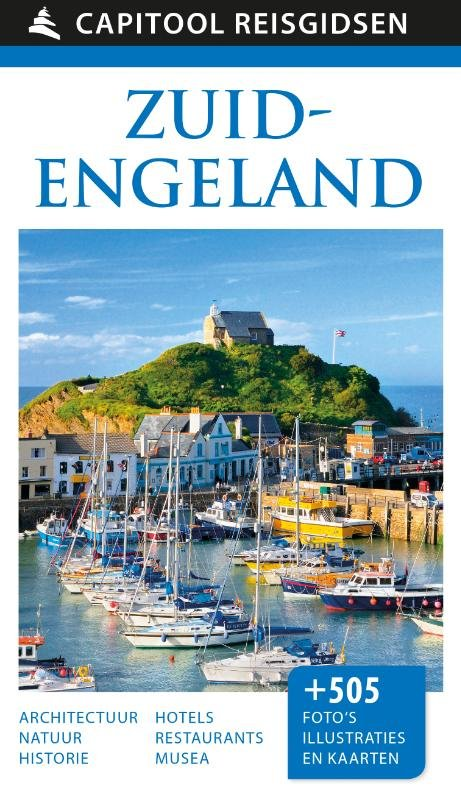 Capitool Zuid-Engeland 9789000357536  Unieboek Capitool Reisgidsen  Reisgidsen Zuidoost-Engeland, Kent, Sussex, Isle of Wight, Zuidwest-Engeland, Cornwall, Devon, Somerset, Dorset