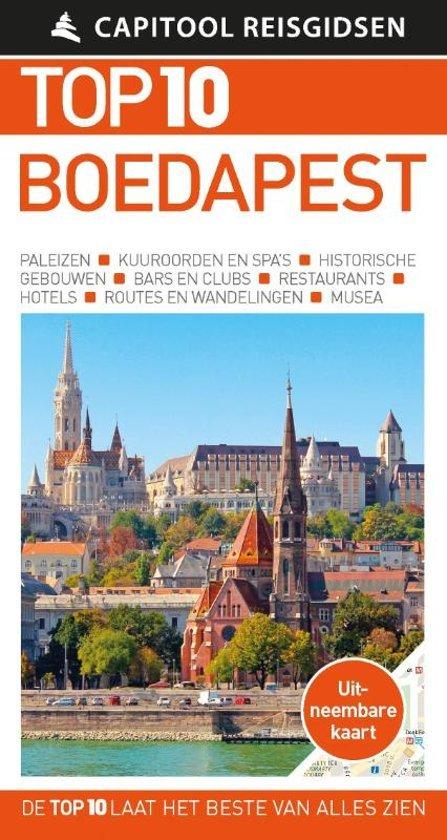 Capitool Top 10 Boedapest 9789000366910  Unieboek Capitool Top 10  Reisgidsen Hongarije