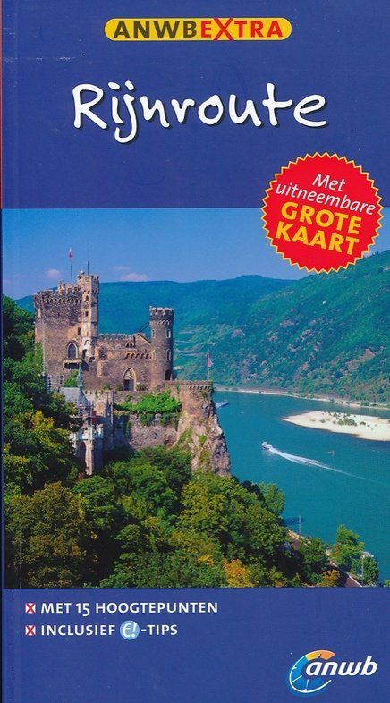 ANWB Extra reisgids Rijnroute 9789018039820  ANWB ANWB Extra reisgidsjes  Reisgidsen West-Duitsland