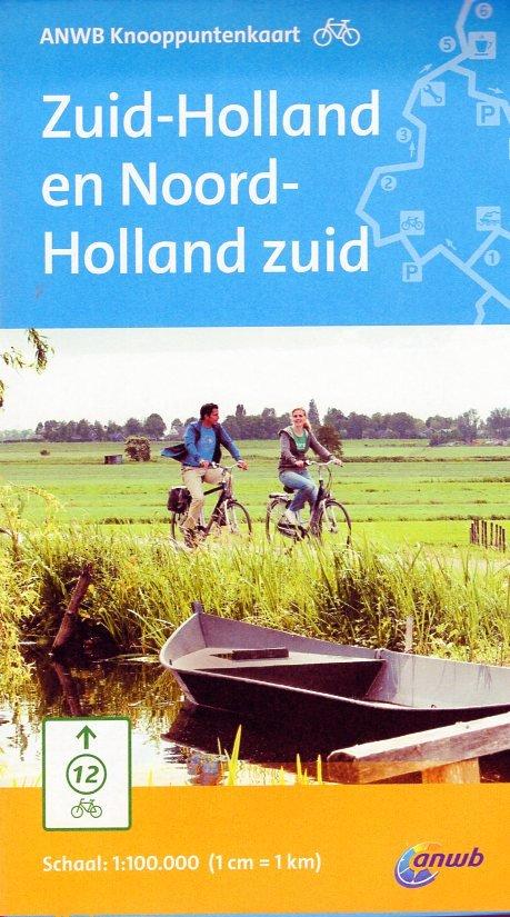 KPK-06 Zuid-Holland, N-Holland-zuid 1:100.000 9789018040949  ANWB ANWB Knooppuntenkaarten  Fietskaarten Den Haag, Rotterdam en Zuid-Holland, Noord-Holland