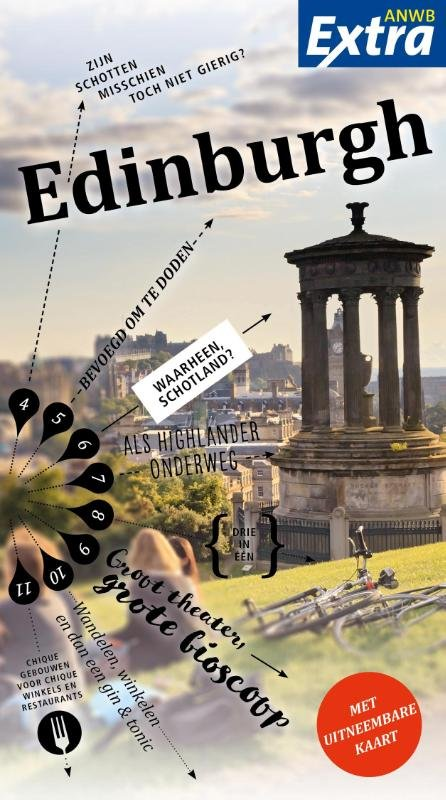ANWB Extra reisgids Edinburgh 9789018041007  ANWB ANWB Extra reisgidsjes  Reisgidsen Edinburgh